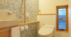 トイレの壁紙