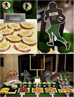 Check out these great decorating ideas for your at-home tailgate this football season!