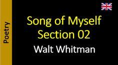 Poetry in English - Sanderlei Silveira: Walt Whitman - Song of Myself – Section 03