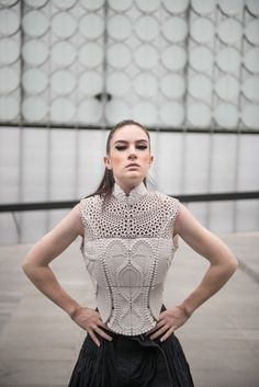This 3D printed top, inspired by the electrolysis of water, won an international 3D design competition