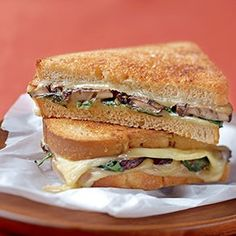 Mushroom, Spinach, and Smoked Gouda Sandwiches | Panera Bread