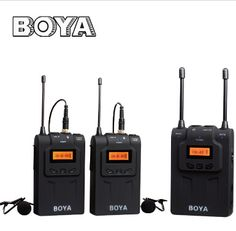 #BOYA BY-WM8 Wireless Lavalier #Microphone System dual-Channel for ENG, EFP, DSLR video [$282.99]by free shipping