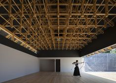 OK...there's an archer in here = awesome. - Archery Hall and Boxing Club by FT Architects