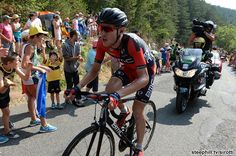Stage 14 - Tejay Van Garderen (Bmc) was dropped today and slipped to 3rd overall
