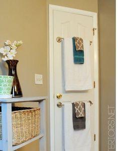 Good idea for small bathroom space