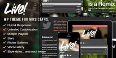 Download Live! - Music Wordpress Theme - http://wordpressthemes.me/download-live-music-wordpress-theme/