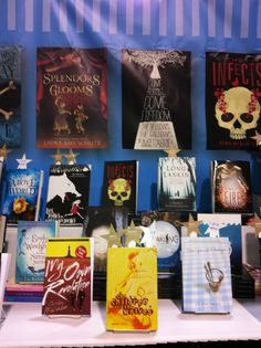 The Candlewick ALA booth - Young Adult Books - 2012 Annual
