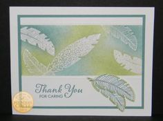 Stampin' Up! Four Feathers Card