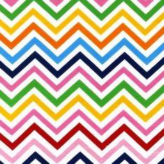 Ann Kelle - Remix Knits - Zig Zag Stripe in BRIGHT