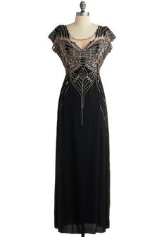 1930s Evening gown- Flutter Me By Dress $109.99   http://www.vintagedancer.com/1930s/1930s-fashion/