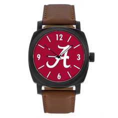 Men's Sparo Alabama Crimson Tide Knight Watch, multicolor