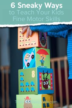 Teaching fine motor skills should be a fun and entertaining part of your kid's day. Use these sneaky ways to get them learning in no time. #frugalnavywife #finemotorskills #homeschool #preschool #kindergarten #educationalgames | Parenting Preschoolers | Parenting Kindergarteners | Homeschooling Tips | Homeschooling Hacks | Preschool Ideas | Kindergarten Ideas | Fine Motor Skills | Teaching Fine Motor Skills Homeschool Kindergarten, Homeschool Curriculum, Activity Games, Fun Games, Teaching Kids, Kids Learning, School Room Organization, Hands On Activities, Toddler Activities