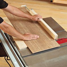 Panel-Cutting Sled Woodworking Plan from WOOD Magazine