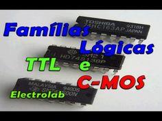 TTL e C-MOS - Famílias Lógicas - Principais características - YouTube