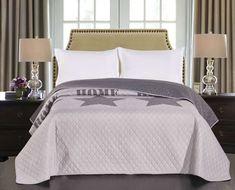 Cuvertura reversibila Starly Grey #homedecor #interiordesign #inspiration #homedesign #bedroom #bedroomdecor #decoration Bed Sets, Decoration, Bedding Sets, Inspiration, Bedroom, Grey, Furniture, Home Decor, Decor