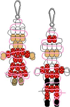 All kinds of free bead patterns for holidays, events, animals - we had so much fun with this at school today!