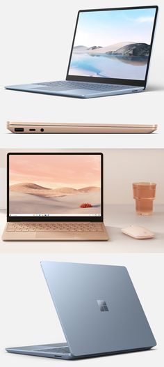 The Microsoft Surface Laptop Go fits in with the era of Zoom and social distancing. Its Intel Core i5 processor is enough for work/school tasks like web browsing, word processing and e-mail and its 12.4-inch, 1,536-by-1,024-pixel touchscreen, 720p video camera, dual microphones and Bluetooth 5.0 and Wi-Fi 6 support can handle videoconferencing—but not gaming. The slim, 2.45-lb. unit comes with Windows 10 S (switchable to Windows 10 Pro) and USB-A and USB-C ports. Starts at $550. CLICK THE… New Surface, Surface Laptop, Go Fit, Cool Tech, Microsoft Surface, Video Camera, Windows 10, Gaming, Usb