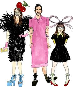 Personality Test : Illustrated guide to fashion's biggest personalities..collect them all!    [June 2012]