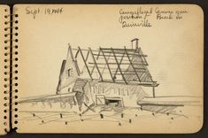 21-Year Old WWII Soldier's Sketchbooks Reveal a Visual Diary of His Experiences - My Modern Met