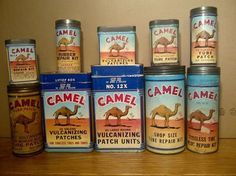 My Camel Tyre Repair Kit Collection | Collectors Weekly