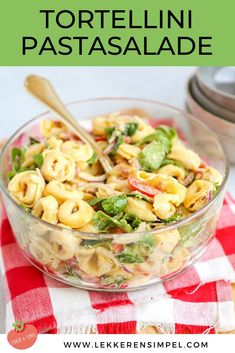 Pasta Recipes, Salad Recipes, Cooking Recipes, Healthy Recipes, Tortellini Pasta, I Want Food, Happy Kitchen, Dinner Is Served, I Foods