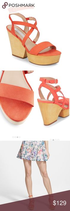 Diane von Furstenberg platform sandals These adorable shoes have only been worn a few times and are in perfect condition! Perfect for the summer with a sundress or jeans! Very comfy! Diane von Furstenberg Shoes Sandals