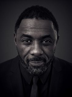 Idris Elba - English actor, producer, singer, rapper, and DJ. Photo by Andy Gotts Idris Elba, Actors Male, Actors & Actresses, Black Actresses, Andy Gotts, Actor Headshots, Celebrity Portraits, Black And White Portraits, How To Pose