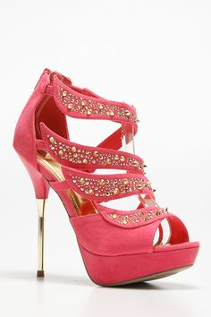 Strappy Gold Accent Heels @ Cicihot Heel Shoes online store sales:Stiletto Heel Shoes,High Heel Pumps,Womens High Heel Shoes,Prom Shoes,Summer Shoes,Spring Shoes,Spool Heel,Womens Dress Shoes,Prom Heels,Prom Pumps,High Heel Sandals