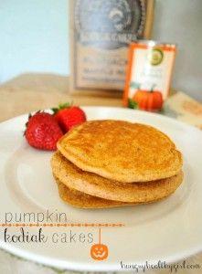 Kodiak Cakes Pumpkin Pancakes!