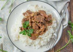 Make and share this Beef Tips on Rice - Pressure Cooker recipe from Genius Kitchen.
