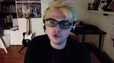 But if you follow him on Twitter, you see another side of him. The weird, wonderful, sassy, internet troll Gerard.