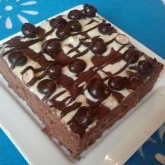 """ciasto """"kukułcze gniazdo"""" ( bez pieczenia) Brownies, Sweet Tooth, Sweets, Chocolate, Baking, Cake, Food Ideas, Notes, Gardening"""