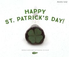 Avoid the St. Patty's Day pinchers by swiping on some Mary Kay® Mineral Eye Color in Emerald Green. | Mary Kay