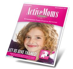 Active Moms November issue is here!