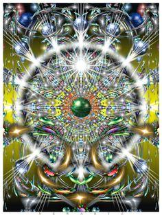 NewArtz mystical illuminations for Hippies tripping through cosmic awakening.