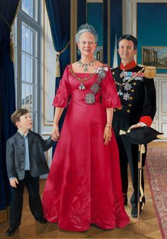 The Danish Royalty Succession - Queen Margrethe II, Crown Prince Frederick & Prince Christian Denmark Royal Family, Danish Royal Family, Crown Princess Mary, Prince And Princess, Prince Frederick, Queen Margrethe Ii, Danish Royalty, Estilo Real, Royal House