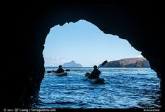 » Exploring the Channel Islands Sea Caves by Kayak - from QT Luong's Blog
