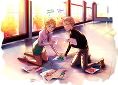Miraculous Ladybug: Gabriel and Adrien's mother. by Dessa-nya