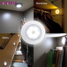 High Quality 6 LED Light PIR Wireless Auto Sensor Motion Detector Lamp Wall Cabinet Night. Yesterday's price: US $7.62 (6.31 EUR). Today's price: US $4.88 (4.04 EUR). Discount: 36%.