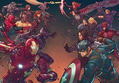 Civil War (What if?) by BryanValenza.deviantart.com on @DeviantArt