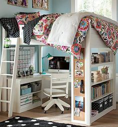 You don't need to have a roommate to have a bunk bed. This one is designed for lone occupancy since the lower part is for study and work station. Or just anything that you want to do with it.