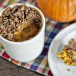{2 minute} Pumpkin Coffee Cake in a Mug