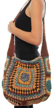 Awesome Granny Square Crochet Bag Pattern Ideas Part crochet bag tutorial; knitting bag sewing pattern ideas for women Bag Pattern Free, Bag Patterns To Sew, Sewing Patterns, Pattern Ideas, Tote Pattern, Crochet Blocks, Wallet Pattern, Afghan Patterns, Crochet Flowers