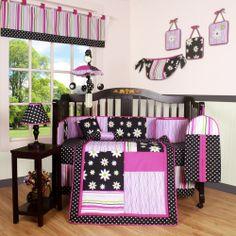 Elephants Crib Bedding And Girl Nursery Themes On Pinterest