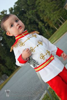 Prince Charming Costume Tutorial