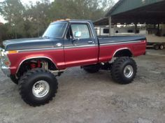 1979 F-250 not a red F-150