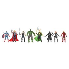 Marvel Exclusive Action Figures - The Avengers, Pack of 8