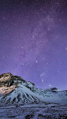 Snow Mountain Stars Iphone Wallpaper - 2021 Live Wallpaper HD