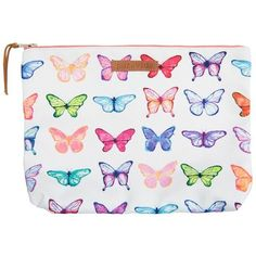 Butterfly Clutch ❤ liked on Polyvore featuring bags, handbags, clutches, summer purses, butterfly handbag, beach handbags, beach purse and white purse