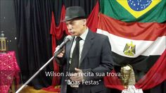 #55 Wilson Jasa recita sua trova 'Boas Festas' no Café com Poesia em 17-...